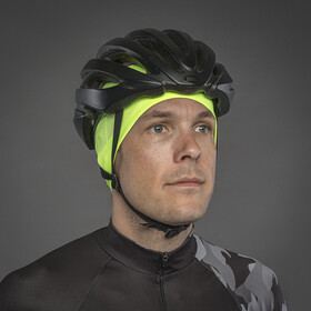 GripGrab Lightweight Windproof Thermal Hi-Vis Skull Cap Fluo Yellow